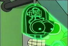 Bender robot is 6502 based