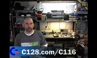 Bil Herd Video on Commodore C116