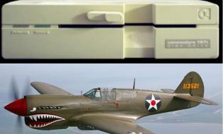 Commodore 1571 and P-40 Warhawk