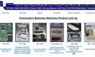 Commodore.ca, Commodore archive